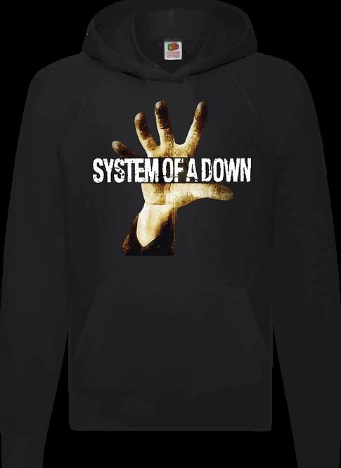 SUDADERA SYSTEM OF A DOWN MANO - CMS149