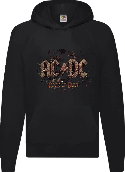 SUDADERA ACDC ROCK OR BUST - CMS113