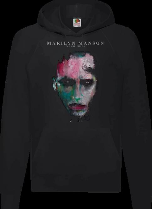 SUDADERA MARILYN MASON WE ARE CHAOS - CMS245