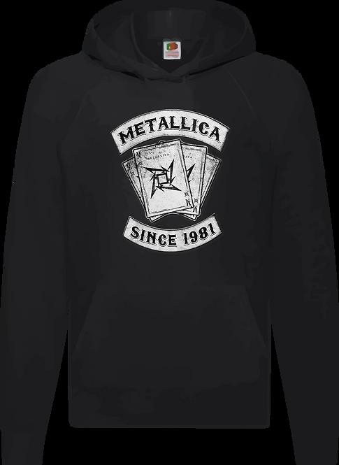 SUDADERA METALLICA SINCE 1981- CMS258