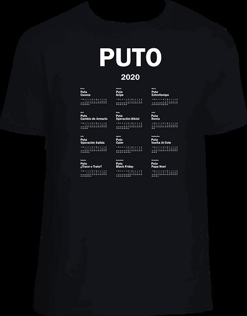 DV007 CAMISETA PUTO 2020