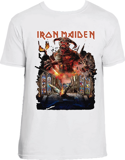CM029 CAMISETA IRON MAIDEN LEGACY OF THE BEAST