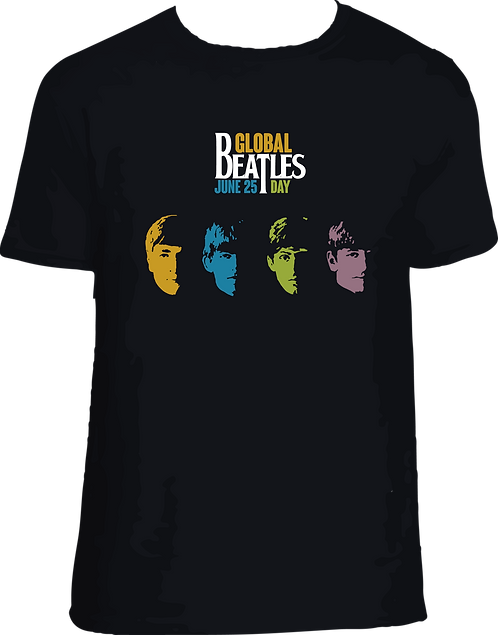 CM007 CAMISETA BEATLES