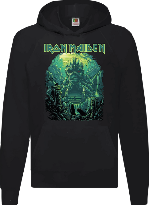 SUDADERA IRON MAIDEN SHADOWS OF THE VALLEY - CMS257