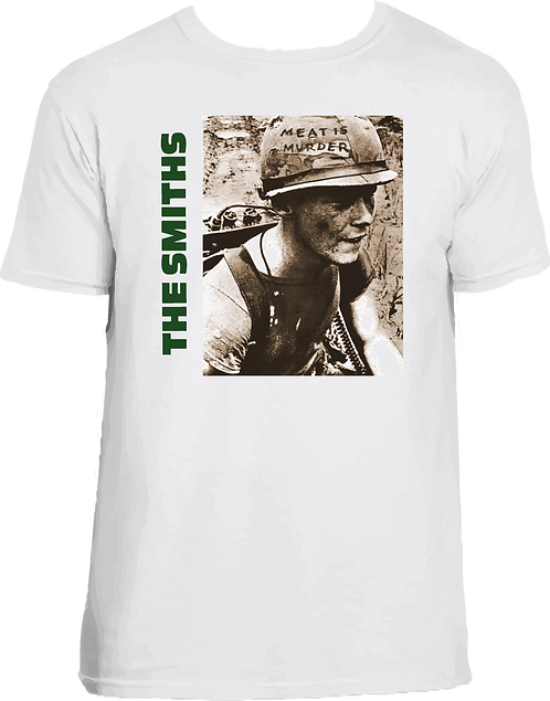 CM106 CAMISETA THE SMITHS MEAT IS MURDER