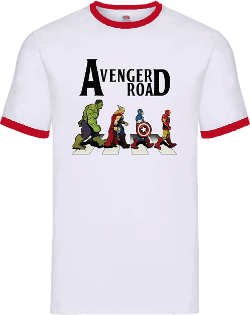 CCO020 CAMISETA AVENGER ROAD - MARVEL