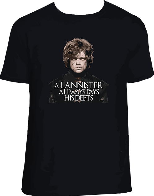 CAMISETA GAME OF THRONES - TYRION_001