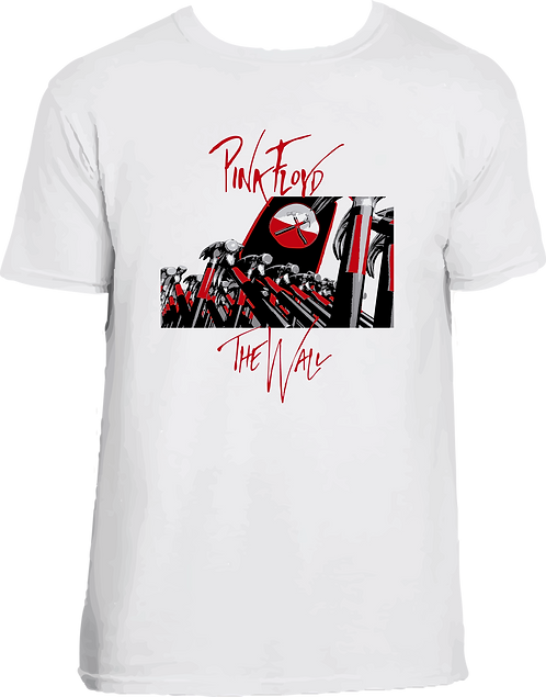 CAMISETA THE WALL - PINK FLOYD