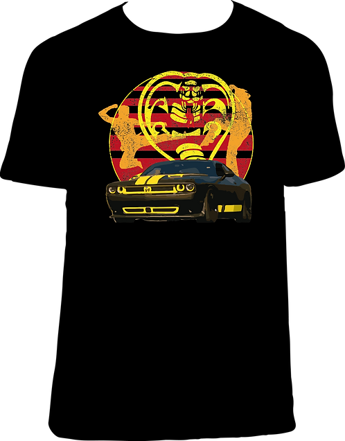 CS039 CAMISETA COBRA KAI COCHE