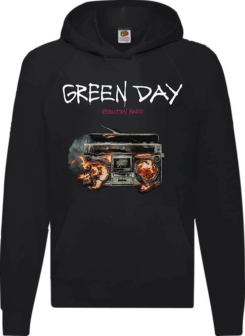 SUDADERA GREEN DAY REVOLUTION RADIO - CMS024