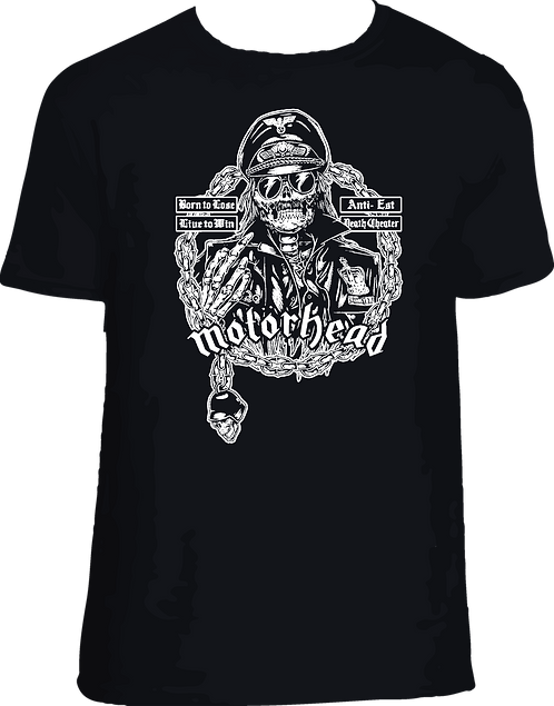 CM172 CAMISETA MOTOR HEAD LEMMY 002