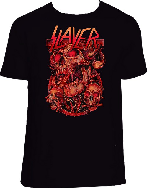 CM139 CAMISETA SLAYER