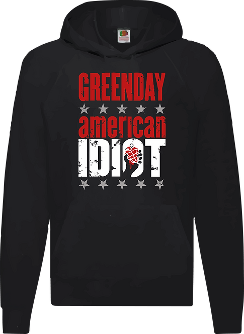 SUDADERA GREEN DAY AMERICAN IDIOT - CMS021