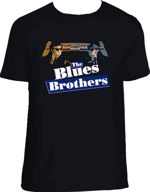 CAMISETA BLUE BROTHERS