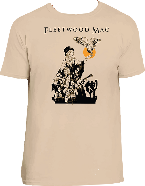 CM302 CAMISETA FLEETWOOD MAC