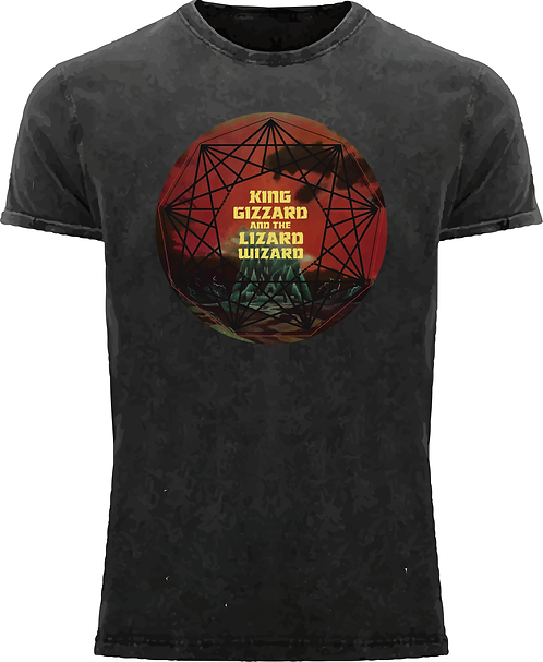CM181 CAMISETA KING GIZZARD AND THE LIZARD WIZZARD