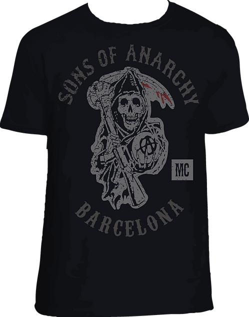 CS031 CAMISETA SONS OF ANARCHY (TU CIUDAD)