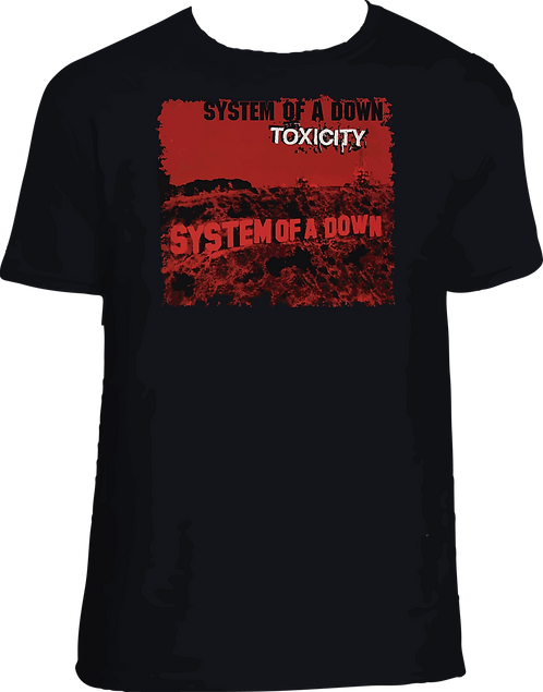 CM151 CAMISETA SYSTEM OF A DOWN TOXICITY