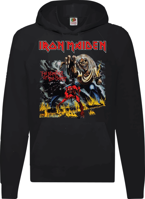 SUDADERA IRON MAIDEN THE NUMBER OF THE BEAST - CMS028