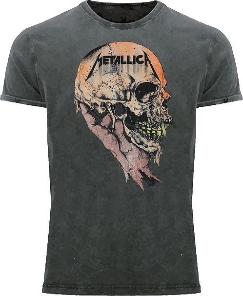 CM189 CAMISETA METALLICA SAD BUT TRUE