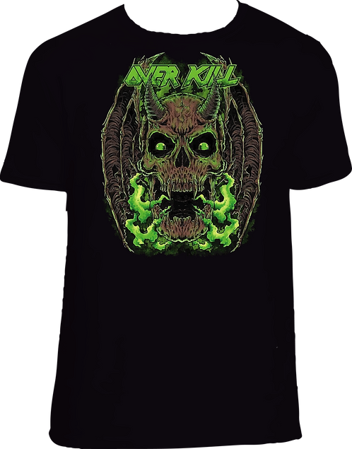 CM138 CAMISETA OVER KILL