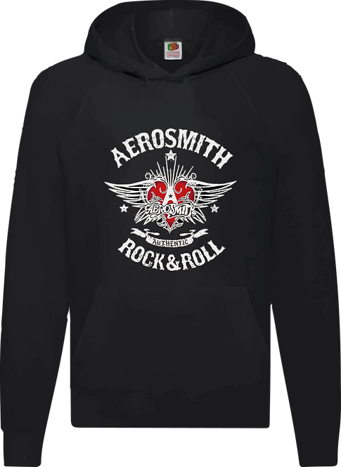 SUDADERA AEROSMITH ROCK AND ROLL - CMS004