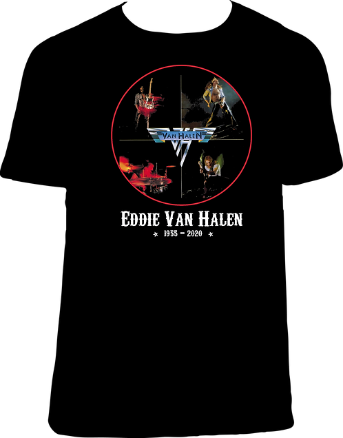 CC231 CAMISETA VAN HALEN 1st ALBUM