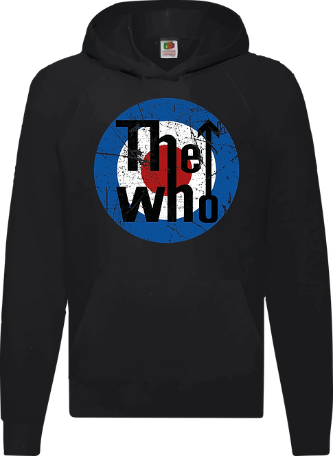 SUDADERA THE WHO LOGO - CMS087