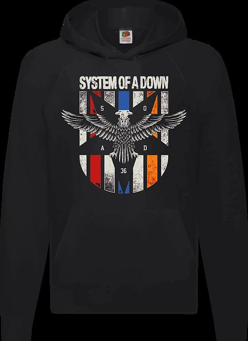 SUDADERA SYSTEM OF A DOWN ESCUDO - CMS148