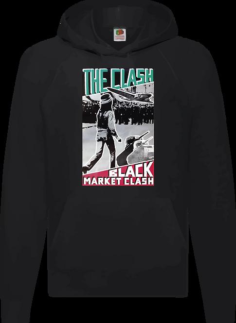 SUDADERA THE CLASH BLACK MARKET - CMS059
