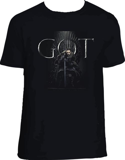 CAMISETA JON SNOW GOT