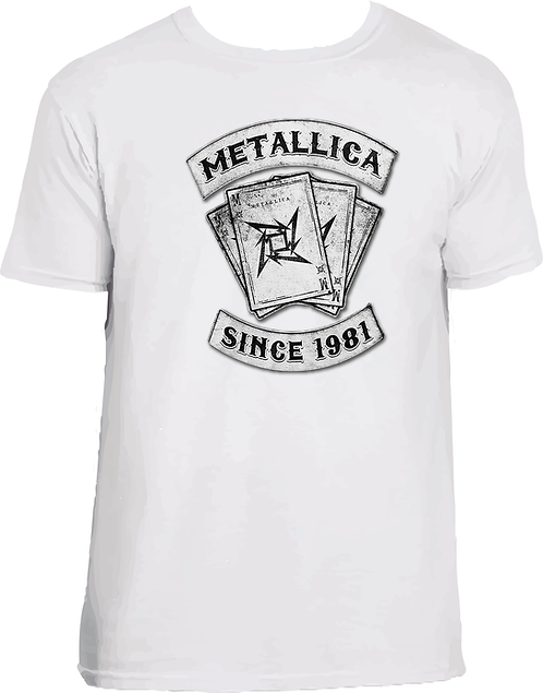CM258 CAMISETA METALLICA SINCE 1981