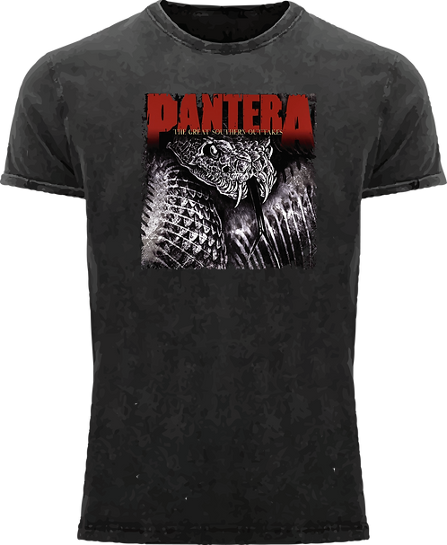 CM131 CAMISETA PANTERA 004 THE GREAT SOUTHERN OUTTAKES