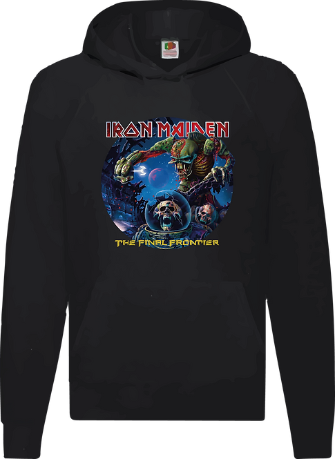 SUDADERA IRON MAIDEN  THE FINAL FRONTIER - CMS027
