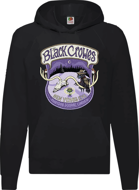 SUDADERA THE BLACK CROWES NEW YEARS EVE - CMS195