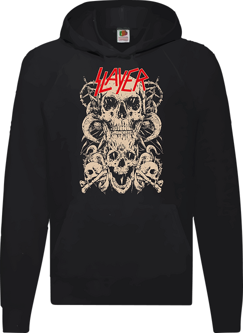 SUDADERA SLAYER 002  - CMS201