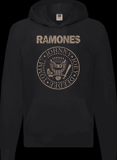 SUDADERA RAMONES LOGO - CMS048