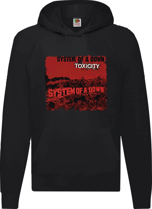 SUDADERA SYSTEM OF A DOWN TOXICITY - CMS151
