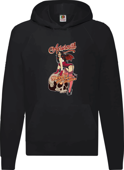 SUDADERA AEROSMITH DEVIL'S GOT A DISGUISE - CMS133