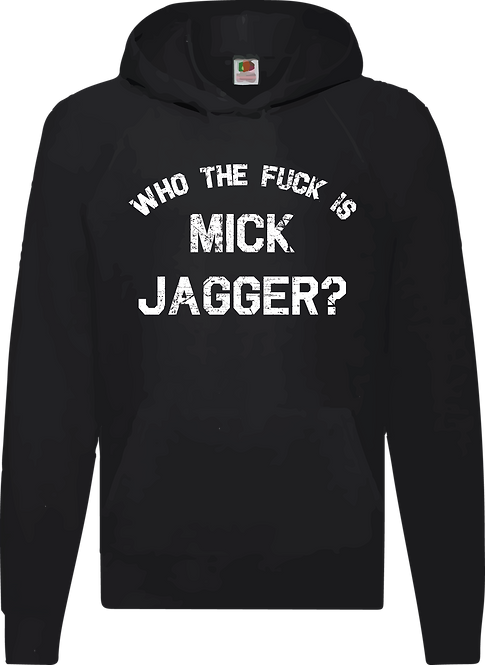 "SUDADERA ROLLING STONES ""WHO THE FUCK IS MIKE JAGGER"" - CMS054"
