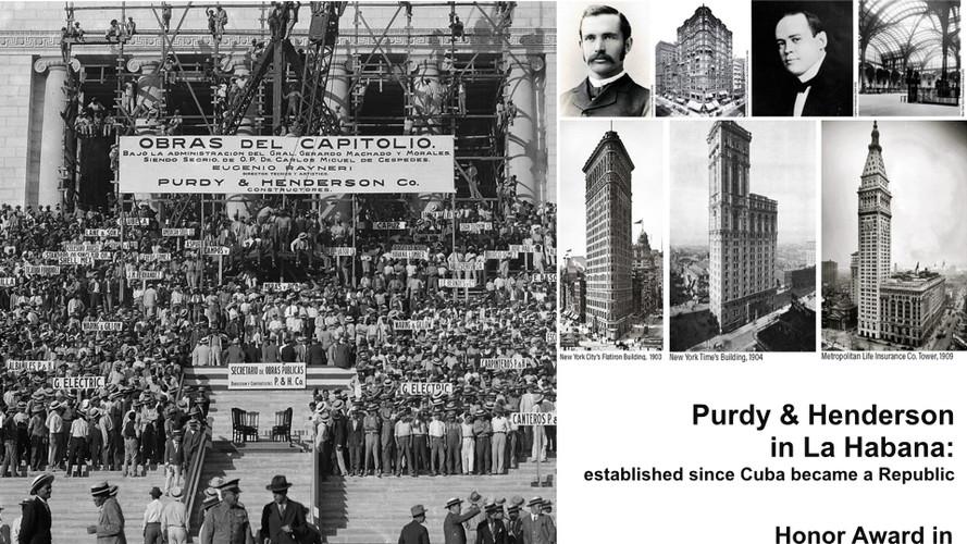 Purdy & Henderson  in La Habana:  established since Cuba became a Republic