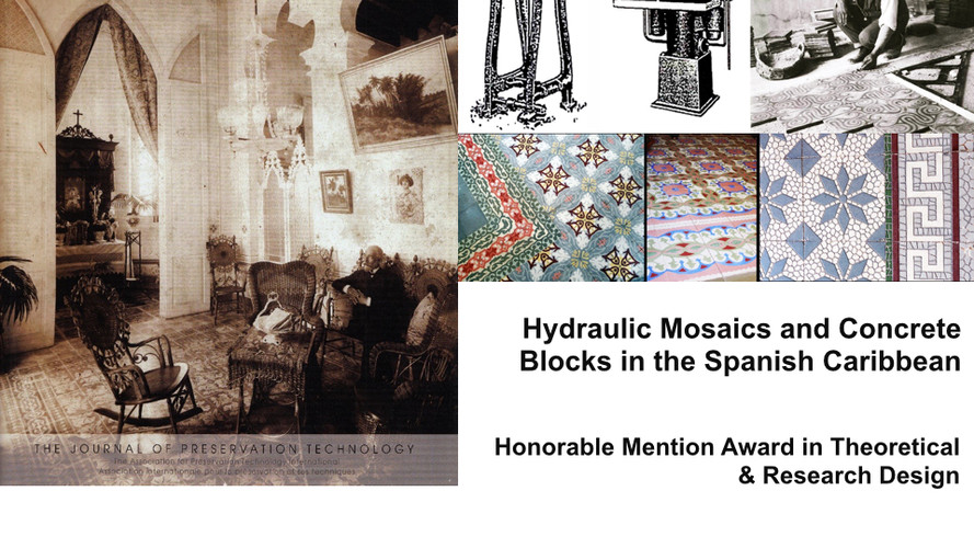 Hydraulic Mosaics and Concrete Blocks in the Spanish Caribbean