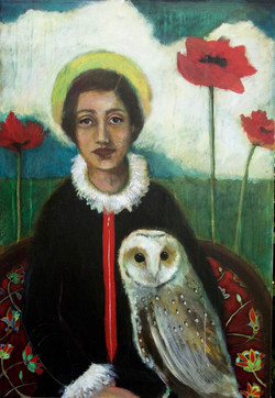 Wisdom and Owl - SOLD