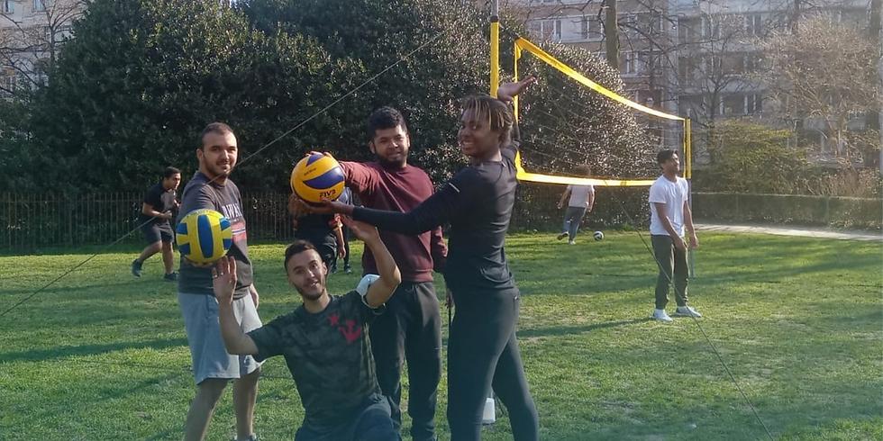 Volleyball avec Wahid & Salim