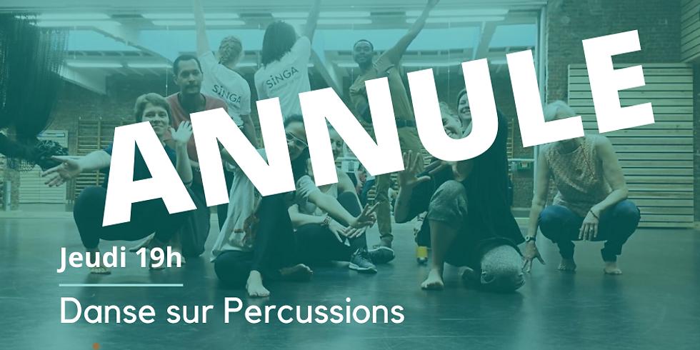 Danse sur percussions - ANNULE