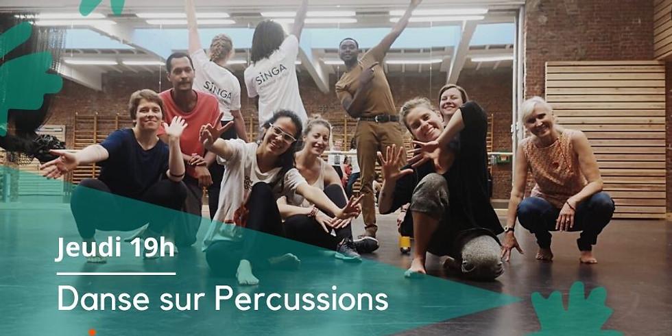 Danse sur percussions