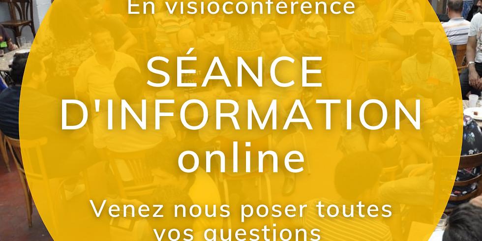 Séance d'information online