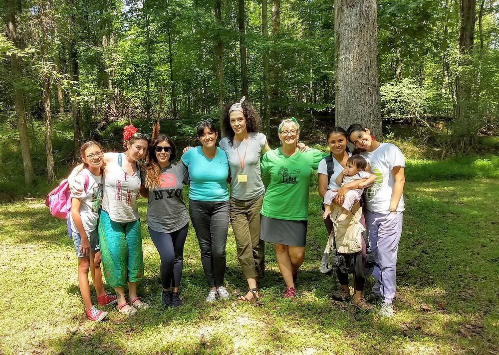 MNP Team at the NH Botanical Garden