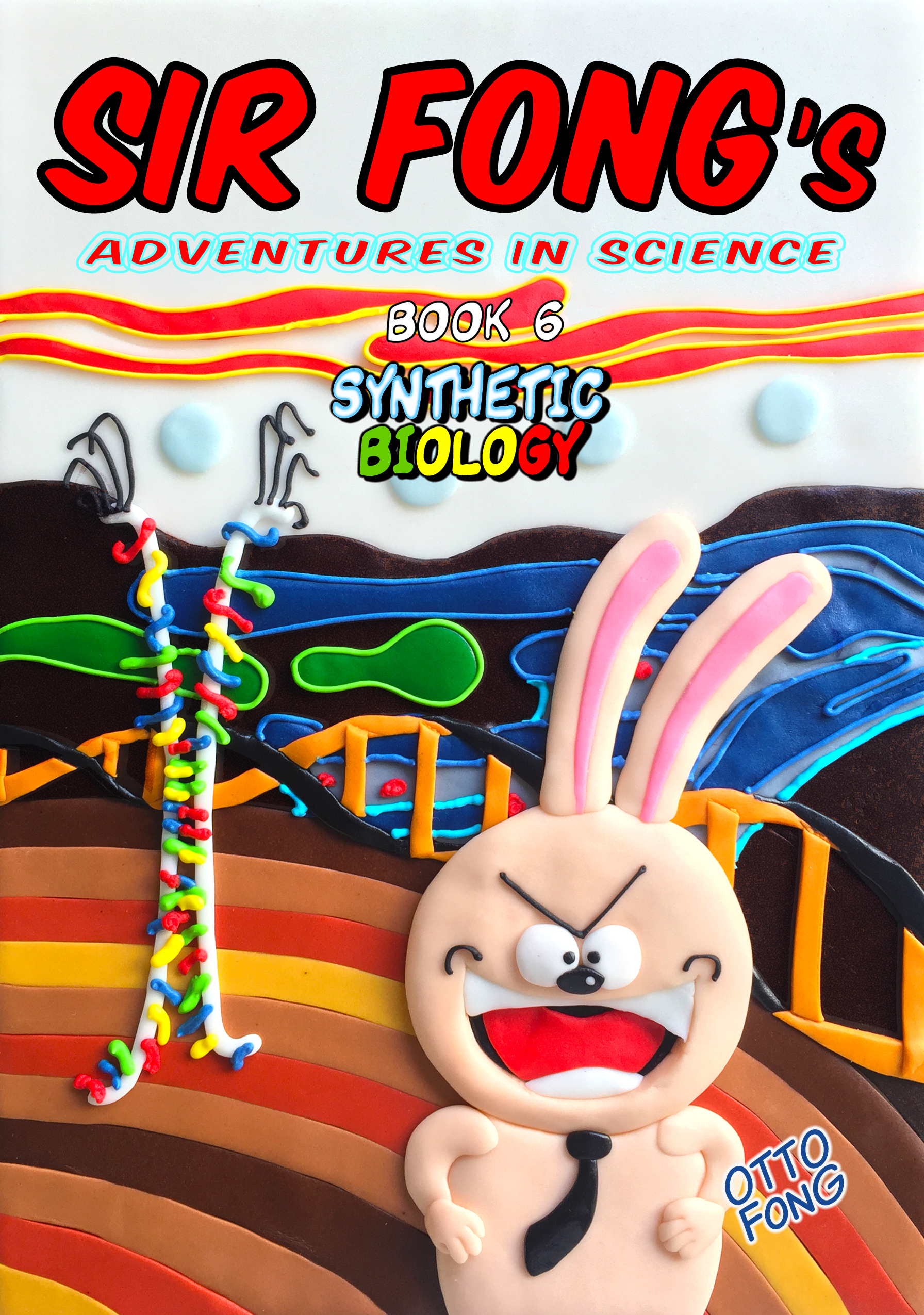 Synthetic Biology Book Cover (Front)