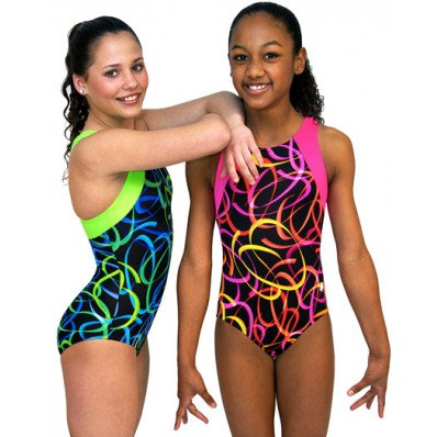 CONFETTI LEOTARD (GREEN)